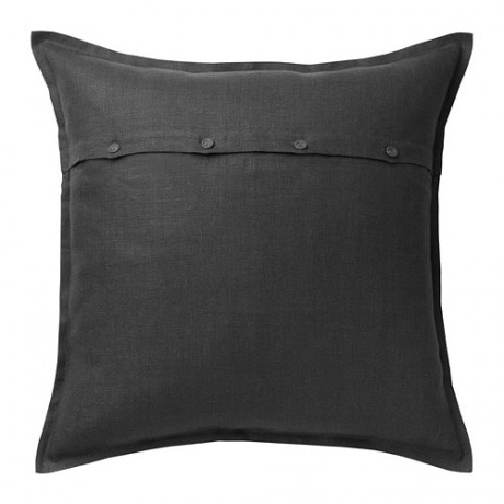 Чехол на подушку АЙНА темно-серый фото 3